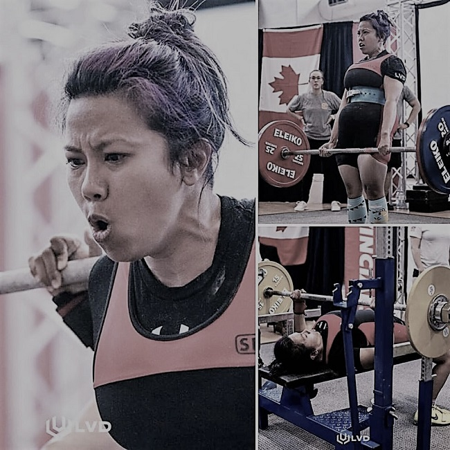 Carmela Smythe powerlifter