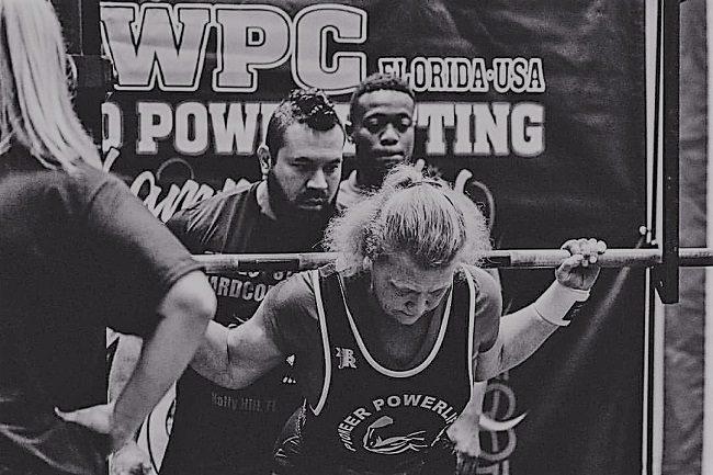 Tommye Arnold powerlifter
