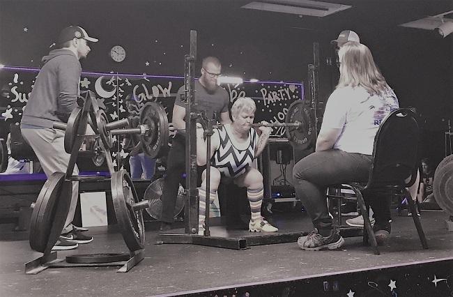 Nancy L. squat